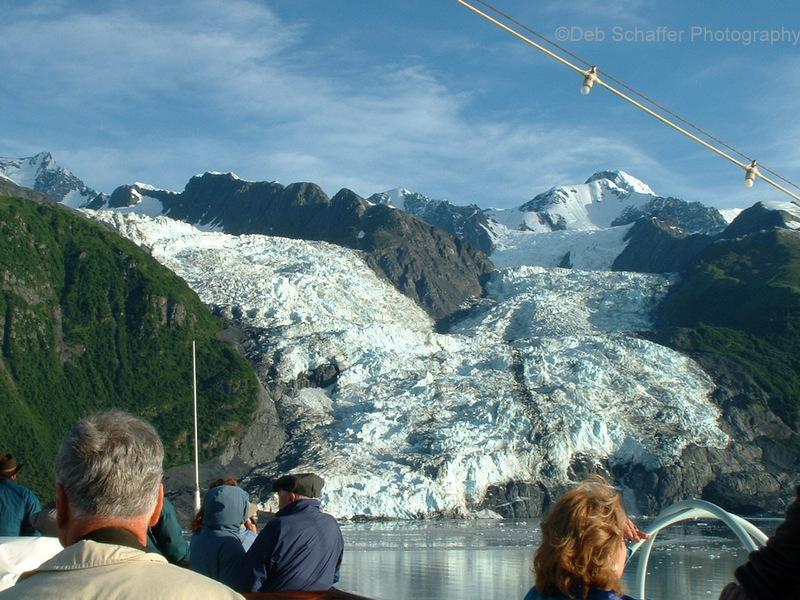 Views of Glacier Bay, Alaska