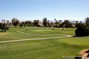 The Tahquitz Golf Course - Legend Course. Hole 4