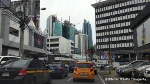 Traffic in Panama City