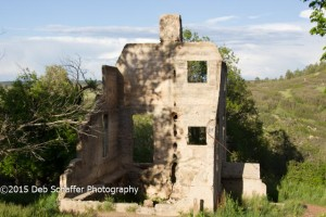 Homestead in Castlewood Canyon
