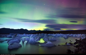 Northern Lights, Iceland by Moyan Brenn, Creative Commons