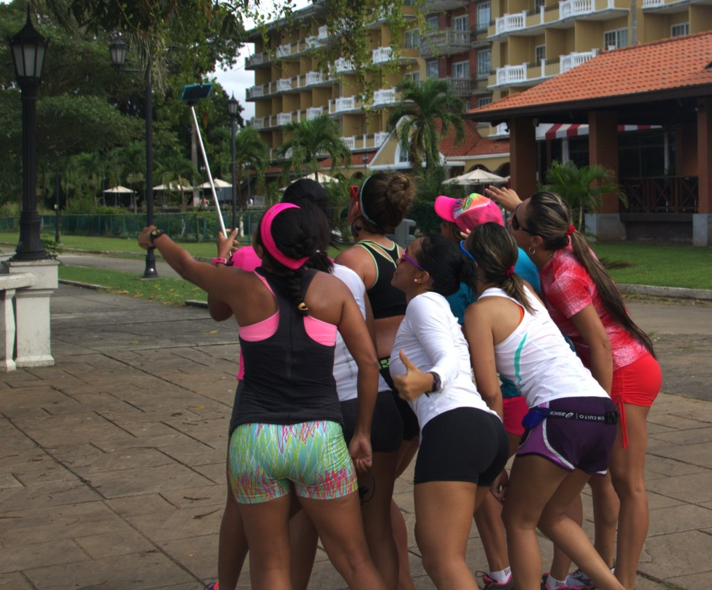 Group selfie in Panama City